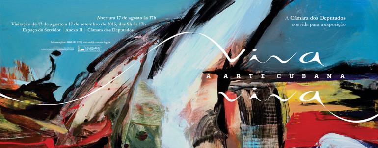 Exhibition Viva a Arte Cubana Viva