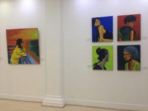 Galería de La Aduana. Barranquilla. Colombia. 2019
