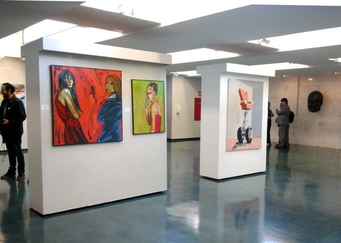 The paintings of Harold López Muñoz at Cámara de Diputados, Brasilia
