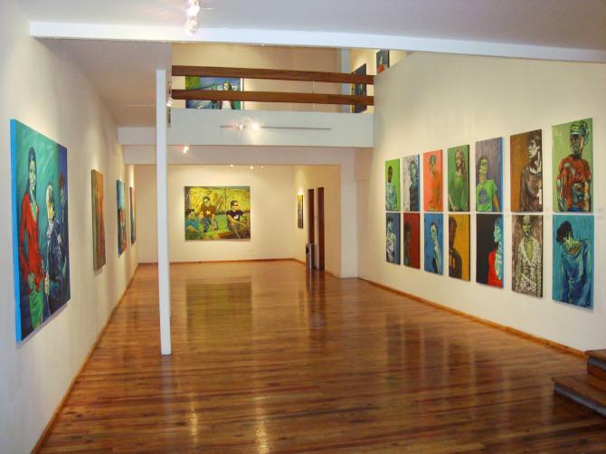 Galería Alva de la Canal, Xalapa, Veracruz. 2010