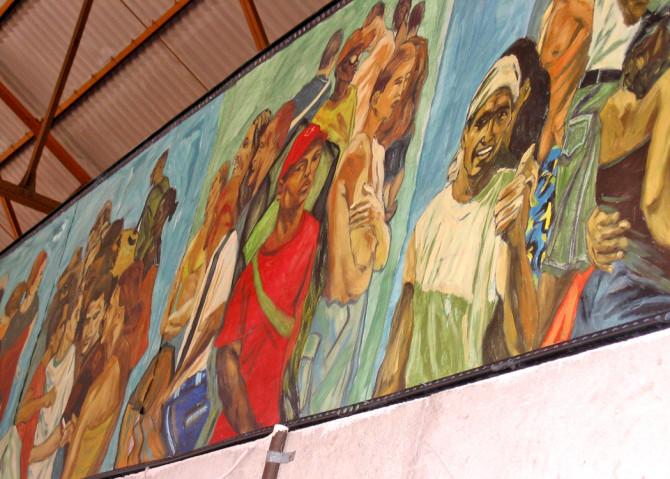 Terminal de ferrocarriles La Coubre. Bienal de La Habana 2006.